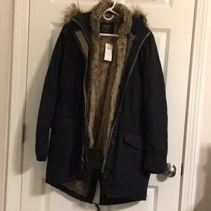 NWT Abercrombie & Fitch 3-in-1 Ultra Parka